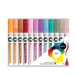 Molotow Aqua Color Brush Basic Set 2