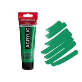 Amsterdam Acryl 120ml Permanent Green Light