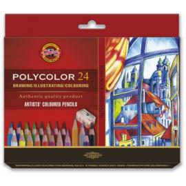 Koh-I-Noor Polycolor Artist Set 24 st.
