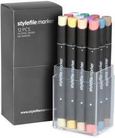 Stylefile Markers Main Kit C 12 stuks