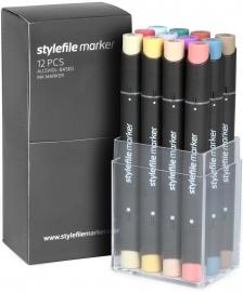 Stylefile Markers Main Kit C 12 stuks