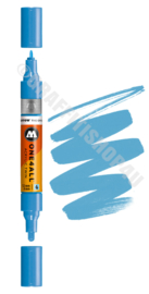 Molotow Acrylic Twin Shock BLue Middle