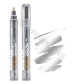 Montana Acrylic Marker 2mm Silver Matt