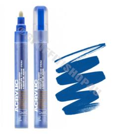 Montana Acrylic Marker 2mm Shock Blue