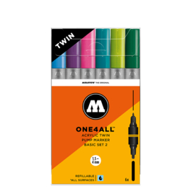 Molotow Twin Basis Set 2 6st.