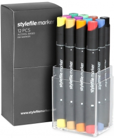 Stylefile Markers Main Kit A 12 stuks