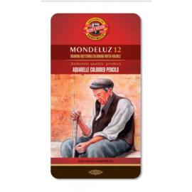 Koh-I-Noor Mondeluz Gold Aquarelpotloden 12 stuks