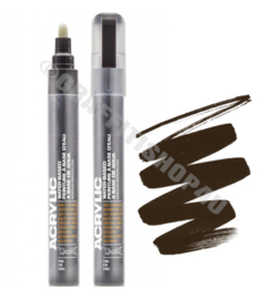Montana Acrylic Marker  2mm SH8020 Brown Dark