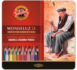 Koh-I-Noor Mondeluz Gold Aquarelpotloden 24 stuks