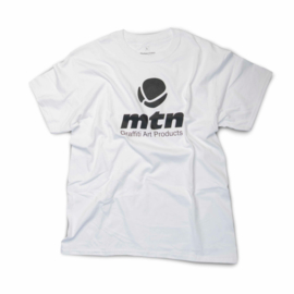 MTN T-Shirt  Basis Logo Front White