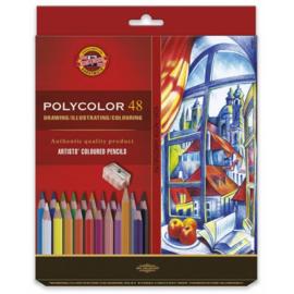 Koh-I-Noor Polycolor Artist Set 48 st.