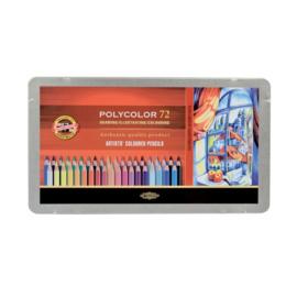 Koh-I-Noor Polycolor Kleutpotloden 72 stuks