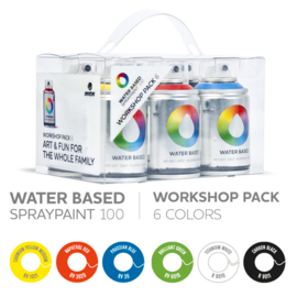 MTN Waterbased 6x 100ml Workshop Set