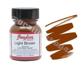 Angelus Leerverf 29ml  Light Brown