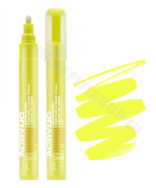 Montana Acrylic Marker  2mm F1000 Flash Yellow