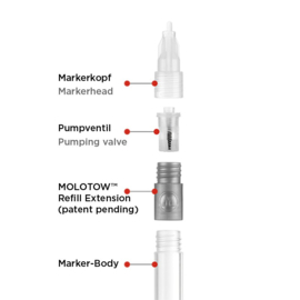 Molotow  Refill Extension 611EM Starter Set