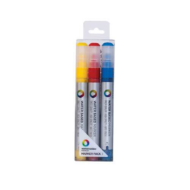 MTN  Water Based Marker 3mm Set RVB 3st