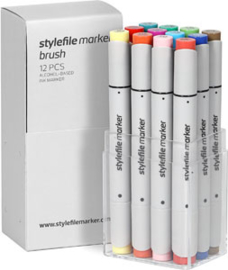 Stylefile Brushmarkers Main Kit B 12 stuks