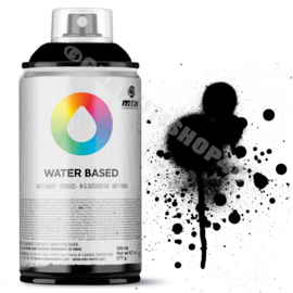 MTN Water Based 300ml Carbon Black