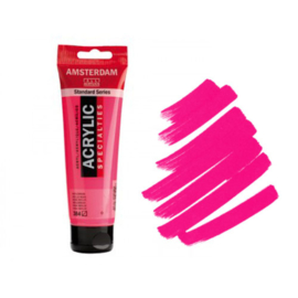 Amsterdam Acryl 120ml Fluor Rose