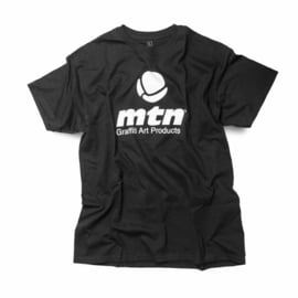 MTN T-Shirt Basic Logo Front Black