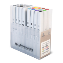 MTN 94 Graphic Marker Main A + Grey Set 24