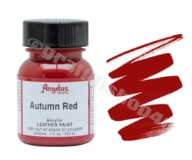 Angelus Leerverf 29ml  Autumn Red
