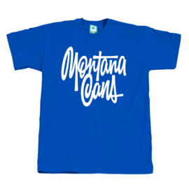 Montana T-Shirt Tag SHAPIRO Blue