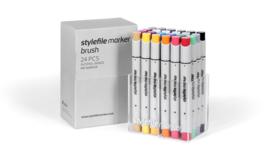 Stylefile Brushmarkers Main Kit A 24 stuks