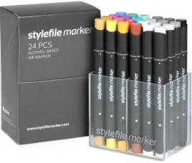 Stylefile Markers Main Kit A 24 stuks