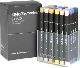 Stylefile Markers Main Kit B 24 stuks