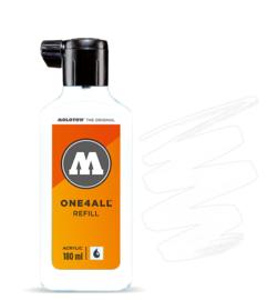 Molotow refill 180ml Signal White