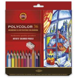 Koh-I-Noor Polycolor Artist Set 36 st.