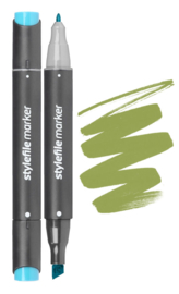 Stylefile Marker  Bronze Green