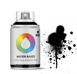 MTN Waterbased 100ml  Carbon Black