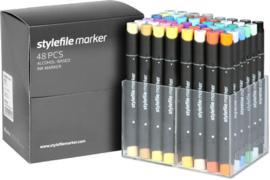 Stylefile Markers Main Kit A 48 stuks