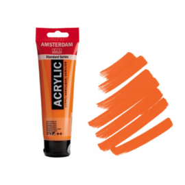 Amsterdam Acryl 120ml Azo Orange