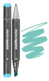 Stylefile Marker  Turquoise Green Light