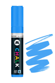 Molotow Chalk Marker 4-8mm Neon Blue