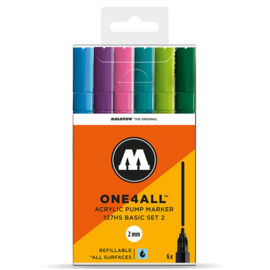 Molotow 127HS Basic Set2  6st.