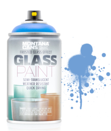 Montana Glass Paint 250ml  Frosted/Matt Bay Blue