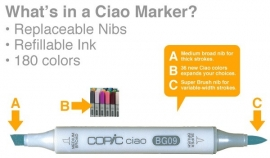 Copic Ciao Black