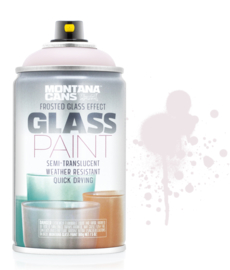 Montana Glass Paint 250ml  Frosted/Matt Almond