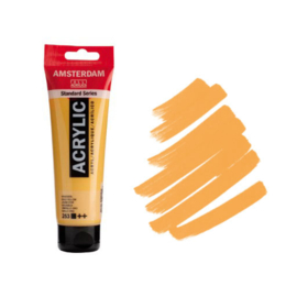 Amsterdam Acryl 120ml Gold Yellow