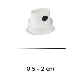 Molotow Super Skinny White/Black