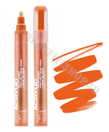 Montana Acrylic Marker  2mm SH2010 Orange