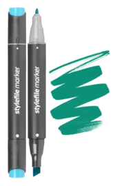 Stylefile Marker  Turquoise Green