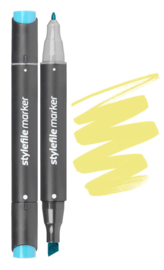 Stylefile Marker  Yellow Green