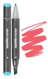 Stylefile Marker  Coral Red