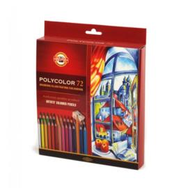 Koh-I-Noor Polycolor Artist Set 72 st.